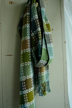 supplementary warp squares bamboo scarf (13) | Flickr - Photo Sharing!