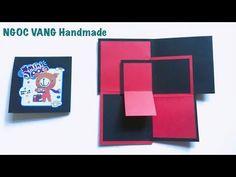Làm thiệp hình MÊ CUNG để ẢNH cực độc ( Maze card ) - NGOC VANG - YouTube Birthday Scrapbook, Mini Scrapbook Albums, Scrapbook Paper Crafts, Scrapbooking, Mini Albums, Creative Box, Creative Video, Diy Crafts Hacks, Diy Crafts For Gifts