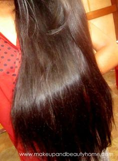 My Hair Spa at Home to Get Shiny Hair in a DAY : Tutorial and Before & After Pictures