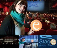 """03.05.2015: Tor! Tor! Tor! Tor! ... Unser """"e"""" erlebt mit Jenni emotionale Momente beim Musical Das Wunder von Bern im Stage Theater An Der Elbe. Gänsehaut pur!!!"""