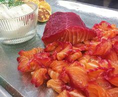 Apresentadora também ressalta os preços do ingrediente encontrados no mercado. O filé custa de R$ 50 a R$ 60 e o salmão defumado custa cerca de R$ 90.