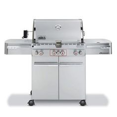 A renowned made-in-America manufacturer of gas and charcoal grills, Weber has been an outdoor cooking icon for more than 50 years. Whether you're cooking for two or 20, the company's products, which include smokers, portable grills, and electric units, will meet your food prep needs.