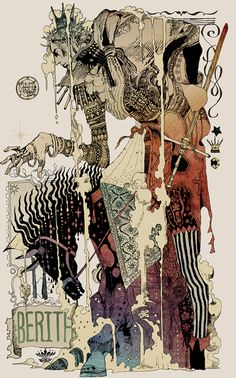 Incredible art by Akiya_kageichi. It looks almost like a modern twist on an old historical style.