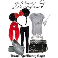 Im dying to go to Disneyworld...and this would be so cute to wear if we go in Sept!