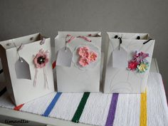 Lahjakasseja Napkins, Recycling, Gift Wrapping, Tableware, Crafts, Gift Wrapping Paper, Dinnerware, Manualidades, Towels