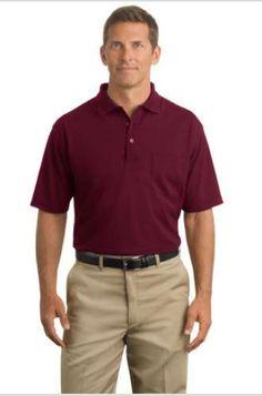 CornerStone Industrial Pocket Pique Polo | www.apparelmanufacturers.com