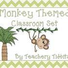 Monkey Themed Classroom Set