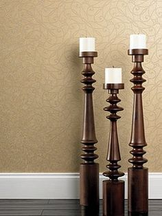 Your Wooden Pillar Candle Holders would never look as fabulous as now! Thanks to the elegance of the walls and support from your floor