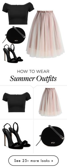 """Untitled #14"" by bdalma99 on Polyvore featuring Chicwish, Alice + Olivia and Giuseppe Zanotti"