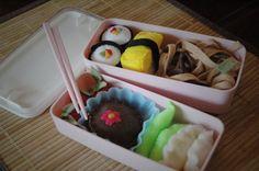 Making it Sweet - Felt food bento box