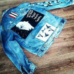 kukuLi art 2018 - #denim #jacket #men #handpainted #handmade #unique #wearable #art