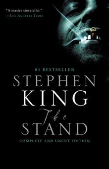 The Stand by Stephen King. Stephen King's apocalyptic vision of a world blasted by plague and tangled in an elemental struggle between good and evil remains as riveting and eerily plausible as when it was first published.