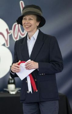 Princess Anne, August 3, 2013 | The Royal Hats Blog