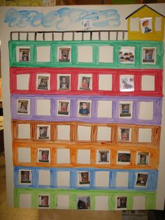 aan de hand van ruimtelijke begrippen prenten van de figuren uit het verhaal en foto's van de kleuters een plaats geven in de petteflet Schmidt, Childrens Books, Teaching, Home, Seeds, Children Books, Kid Books, Learning, Education