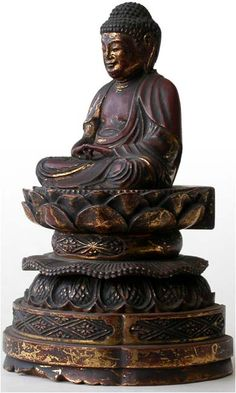 Amida Buddha In Meditation   Edo Period, Circa: 18th century