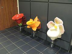 Flower Urinals    Dobbies Garden Centre, Shepton Mallett