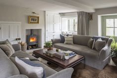 Interior Architecture and Interior Design Project | Cotswold Country House — Gunter & Co Cotswold Cottage Interior, Cotswold House, Country Cottage Interiors, Country House Interior, House Interiors, Cottage Exterior, Interior Design Companies, Interior Design Studio, Luxury Interior Design