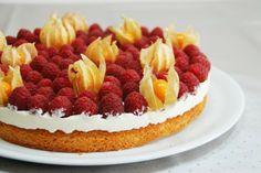 pastís de gerds amb nata i mascarpone