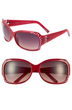 These are so fun, love the red! Fossil Glenda Street 58mm Sunglasses | Nordstrom