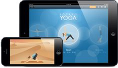 Practice yoga anywhere with this easy to use app. Now you have no excuses to skip your practice!