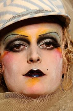 John Galliano S/S 2011  Pat McGrath Makeup most likely.