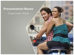 Download #free #Couple #Riding #Bike #PowerPoint #Template for your #powerpoint #presentation. This #free #Couple #Riding #Bike #ppt #template is used by many professionals.