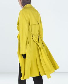 ZARA - TRF - LOOSE-FIT TRENCH COAT