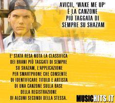 La canzone più taggata del anno su +Shazam e di +Avicii