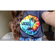 T-shirt: vans, blogger, tumblr girl, tumblr, off the wall vans ...