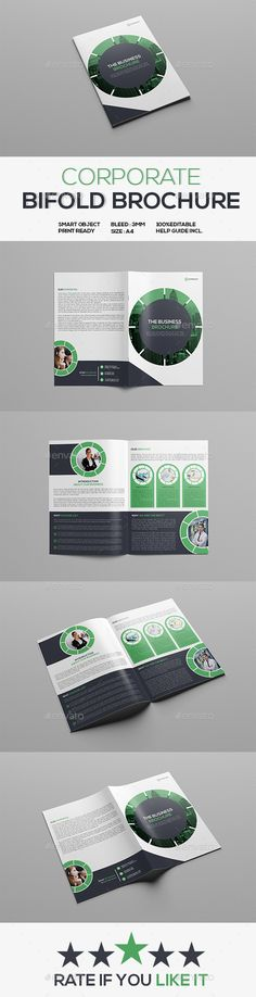 Design of a Corporate Brochure - Free Designers Examples, Samples