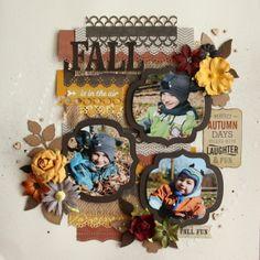 Création Stacy                                    -Kit Reflection Fall - Boutique Art du Scrapbooking
