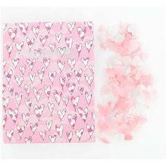 Paper Confetti Pink Hearts