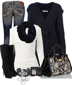"""Belted Cardigans!"" by cindycook10 on Polyvore #fall #winter"