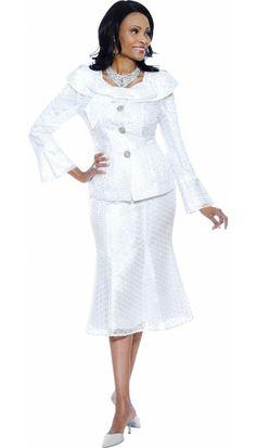 White Church Suit 3462 By Susanna