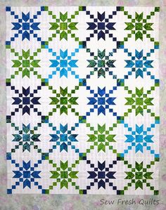 Sew Fresh Quilts: Stepping Stones Quilt Block Tutorial. Love this!
