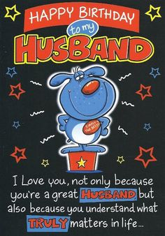 happy birthday husband images | Husband Birthday Cards - A Range of Birthday Cards for Husband