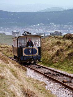 Llandudno, Tram No.7 Ascending the Great Orme by llandudnoenthusiasts, via Flickr