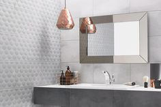 Ted Baker Tactile Light Grey Base Wall & Floor Tiles - Tons of Tiles 3d Wall Tiles, Ceramic Floor Tiles, Wall And Floor Tiles, 3d Texture, Tiles Texture, Grey Feature Wall, Feature Walls, Bathrooms Online, Dream Bathrooms