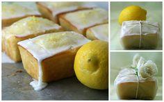 lemon-olive-yogurt mini-loaves by Amelia PS, via Flickr