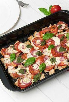 Tomate Mozzarella Auflauf Rezept einfach