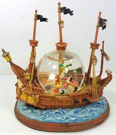 Disney Peter Pan Snowglobe RARE | eBay