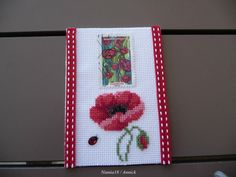 Coquelicot T Atc, Advent Calendar, Holiday Decor, Notebooks, Flowers, Flower Cards, Envelopes, Cross Stitch, Embroidery