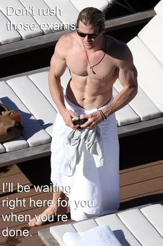 Chris Hemsworth: | Hot Guys To Motivate You For Finals