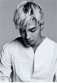 Taeyang...I'm digging the new hair