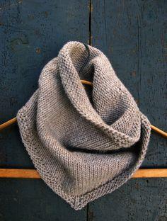 Bandana Cowl | Purl Soho Cowl Scarf, Knit Cowl, Knit Crochet, Crochet Summer, Knitted Cowls, Men Scarf, Crochet Baby, Hand Crochet, Cowl Neck