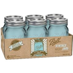 Ball Jar Heritage Collection Pint Jars with Lids and Bands, Set of 6 Ball http://www.amazon.com/dp/B00B80TJX0/ref=cm_sw_r_pi_dp_j0f2tb0K4GR68GBZ