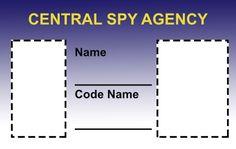 Spy ID Template
