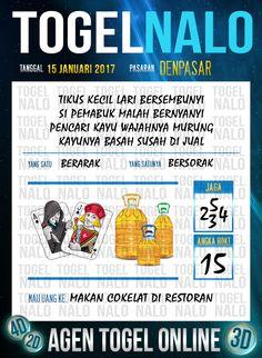 Rumus Kop 6D Togel Wap Online Live Draw 4D TogelNalo Denpasar 15 Januari 2017