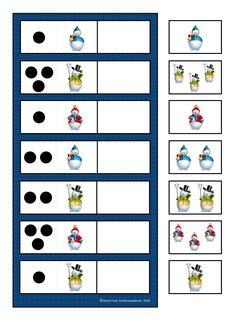 By Autismespektrum. Winter Activities For Kids, Winter Crafts For Kids, Winter Kids, Math For Kids, Lessons For Kids, Kindergarten Math Activities, Montessori Math, Space Activities, Kindergarten Classroom