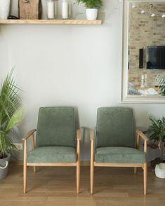 Fotel PRL, renowacja mebli, HFotel PRL, renowacja mebli, H. Lis, lisek, Lekka Furniture 9 Lis, User Experience, Interior Inspiration, Accent Chairs, Retro, Furniture, Home Decor, Green Armchair, Chair